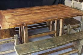Teakholz Esszimmer Bank Rustikale Tische Aus Holz Affordable Gallery Of Rustikale