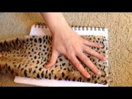 How To Make A Faux Fur Rug Diy How To Make A Fake Fur Animal Rug For Dollhouse Youtube