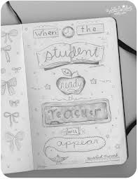 pencil quote when the student is ready kathy weller art ideas