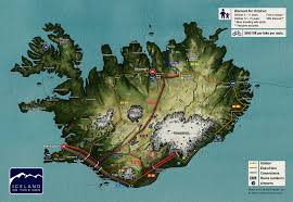 Iceland On Map Iceland On Your Own Coach Charter Iceland Coach Hire Iceland