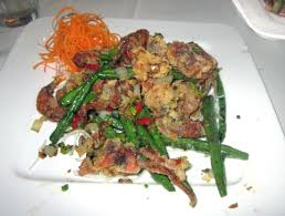 concerto en cuisine salt pepper shell crab w green beans picture of concerto