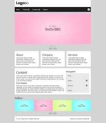 free homepage for website design 12 free responsive business website templates
