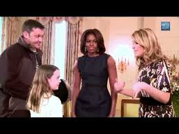 white house tours obama first lady michelle obama surprises visitors on white house tour and