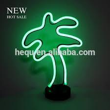 palm tree neon light metal frame custom neon light palm tree led l buy palm tree led