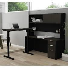 hutch standing u0026 height adjustable desks you u0027ll love wayfair