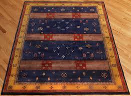 Gabbeh Rugs Sale Rugsville Gabbeh Tribal Navy Blue Gold Wool Rug 13230 Rugsville Com