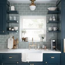blue gray for kitchen cabinets forever classic blue kitchen cabinets centsational style