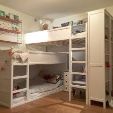Double Bunk Beds Ikea Best 25 Triple Bunk Bed Ikea Ideas On Pinterest Bunk Beds For 3