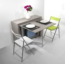 cuisine escamotable deco enchanteur meuble de cuisine avec table escamotable avec