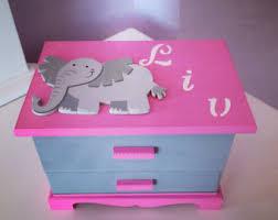 Girls Personalized Jewelry Box Kids Jewelry Box