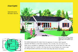 Front To Back Split House Ranch Homes Plans For America In The 1950s