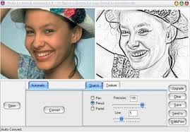 4 free software to convert photo to sketch