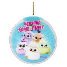 angry birds hatchlings light up disc ornament kurt s