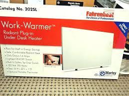 under desk radiant heater radiant under desk heater desk design ideas