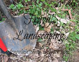 frugal ain u0027t cheap landscaping the frugal way