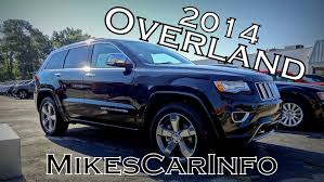 2014 blue jeep grand cherokee 2014 jeep grand cherokee overland youtube
