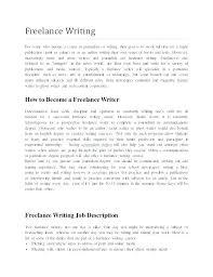 resume objective for freelance writer freelance resume writing
