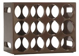 save 10 on this three le cellier wine rack kit that holds 36