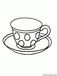 Coloring Page Cup Cup Coloring Page