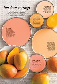color inspiration mango and peach bhgcolor home pinterest