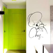 Cafe Kitchen Decor by Wall Decals Chef сook Decal Vinyl Sticker Kitchen Decor Home