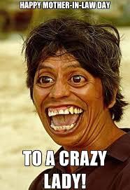 Crazy Lady Meme - funny images bdfjade
