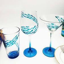 disegni bicchieri bicchieri di vino personalizzate e uniche disegni pittura su vetro