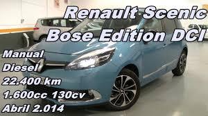 renault scenic dci bose edition 14 130cv manual diesel 22 400km