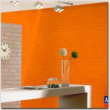 papier peint uni pour cuisine peinture pour papier peint 0 papier peint orange et tapisserie