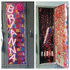Ideas For Locker Decorations 25 Best Locker B Day Ideas Images On Pinterest Locker Ideas
