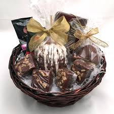 bakery gift baskets chocolate escape basket strossner s bakery cafe deli gifts