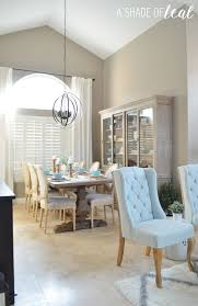 modern rustic dining u0026 living room orc dining room reveal