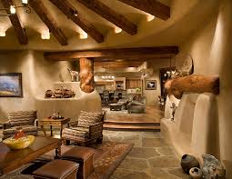 amazing adobe style living area love it all nm dream home