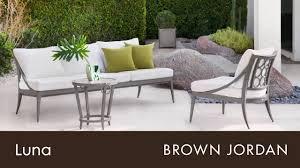 brown jordan luna collection youtube