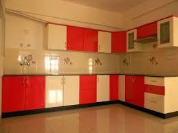 Gloss Red Kitchen Doors - red high gloss kitchen doors cabinets modular door fronts