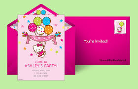 free kitty invitations kitty invitations