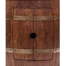 Wine Barrel Vanity Barrel Vanity Package With 17 U2033 Oval Copper Sink U2013 Whiskey Finish