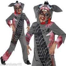 Kid Scary Halloween Costumes Smiffys Roadkill Costume Boys Scary Halloween Horror Fancy Dress