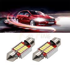 Led Car Light Bulb by C5w Led 31mm 12smd Reading Lights Car Canbus Error Free 4014