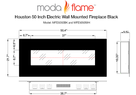 white electric fireplace review moda flame houston 50 u201d wall