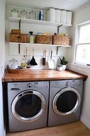 Small Laundry Room Decor Laundry Room Ideas Laundry Room Makeover Wood Counters Walmart