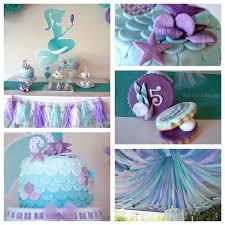 mermaid themed baby shower mermaid ba shower theme smartness enchanting decorations baby