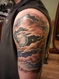 beautiful cloud design tattoos tattoos