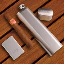 Cigar Gift Set Personalized Cigar Gifts And Humidors For Groomsmen