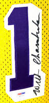 lot detail wilt chamberlain rare signed los angeles lakers