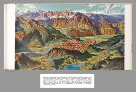 Dolomites Italy Map by Composite Of Text Caption And Map Xxiii Trient And The Brenta