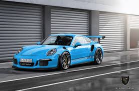 porsche maritime blue porsche 911 gt3 rs by porsche exclusive rendered autoevolution