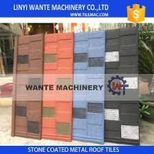 Roof Tiles Suppliers Easy Installed In Short Period Time Stone Coated Steel Roof Tiles