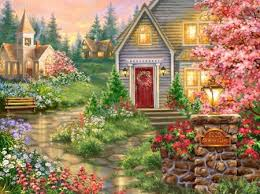 Creative Lovely How To Change by Change Of Season Houses Architecture Background Wallpapers