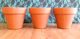 terracotta pots 3 ways revamperate